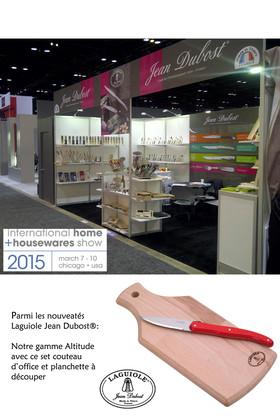 Jean Dubost exporte son 100% made in France sur le salon International Home + Housewares Show à Chicago