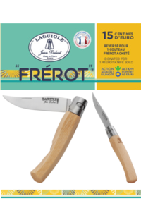 Frérot, le nouveau couteau de poche Laguiole Jean Dubost
