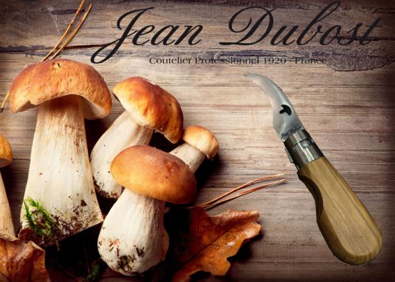 Couteau Frérot champignon Jean Dubost, 100% fabrication française