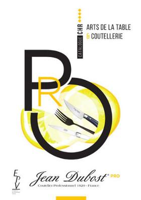 Couteaux de cuisine Jean Dubost Pradel gamme 1920, fabrication française