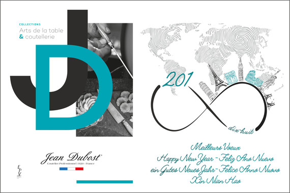 Toute l'équipe Jean Dubost vous présente ses meilleurs voeux pour 2018 !