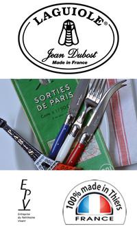 Laguiole Jean Dubost, l'assurance d'une fabrication française traditionnelle et authentique