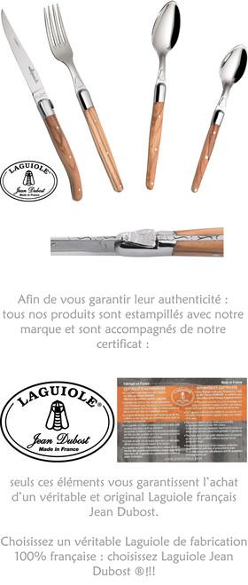 Laguiole Jean Dubost®, l'assurance d'une fabrication française traditionnelle et authentique