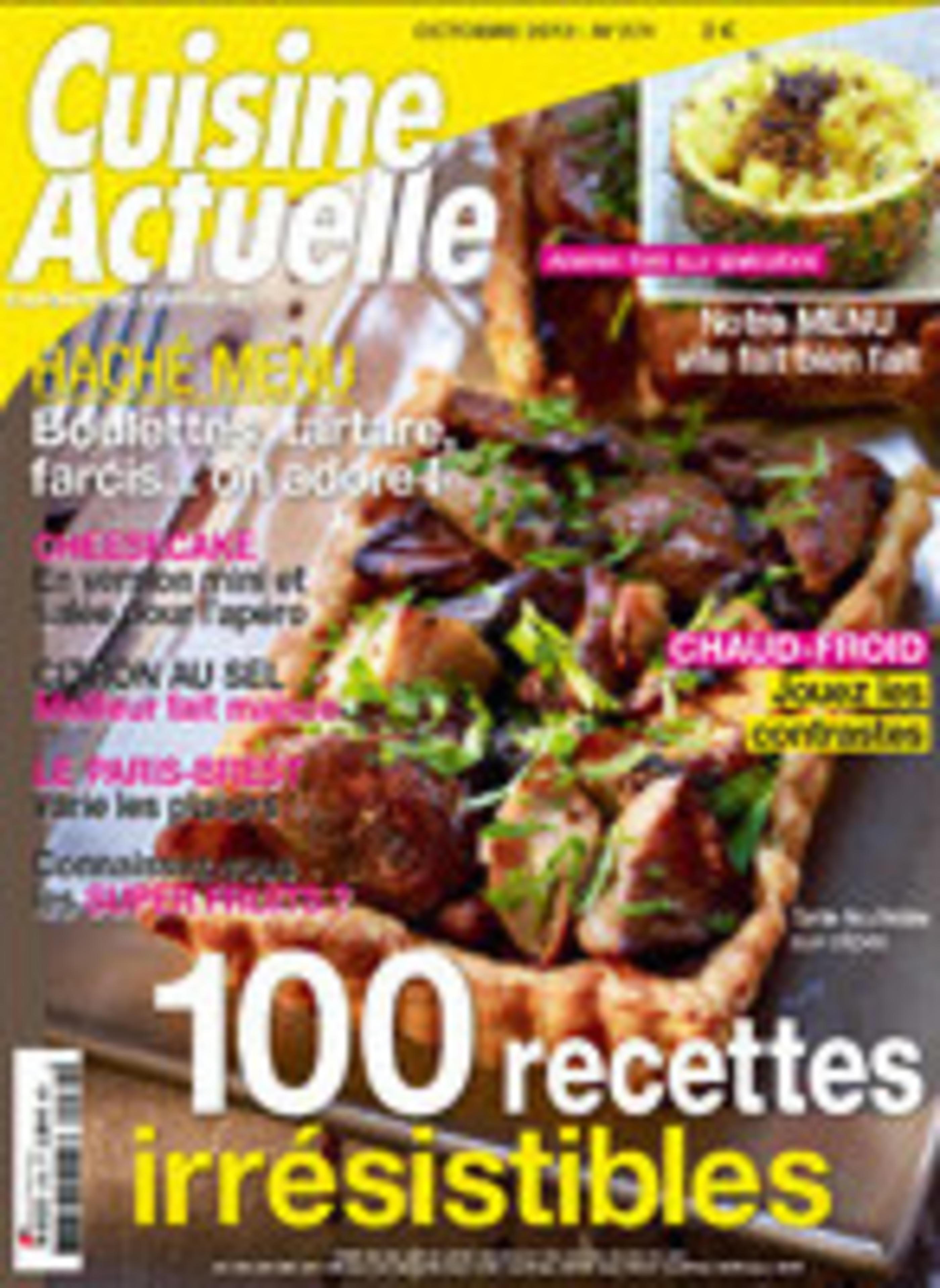 Cuisine Actuelle October 2013