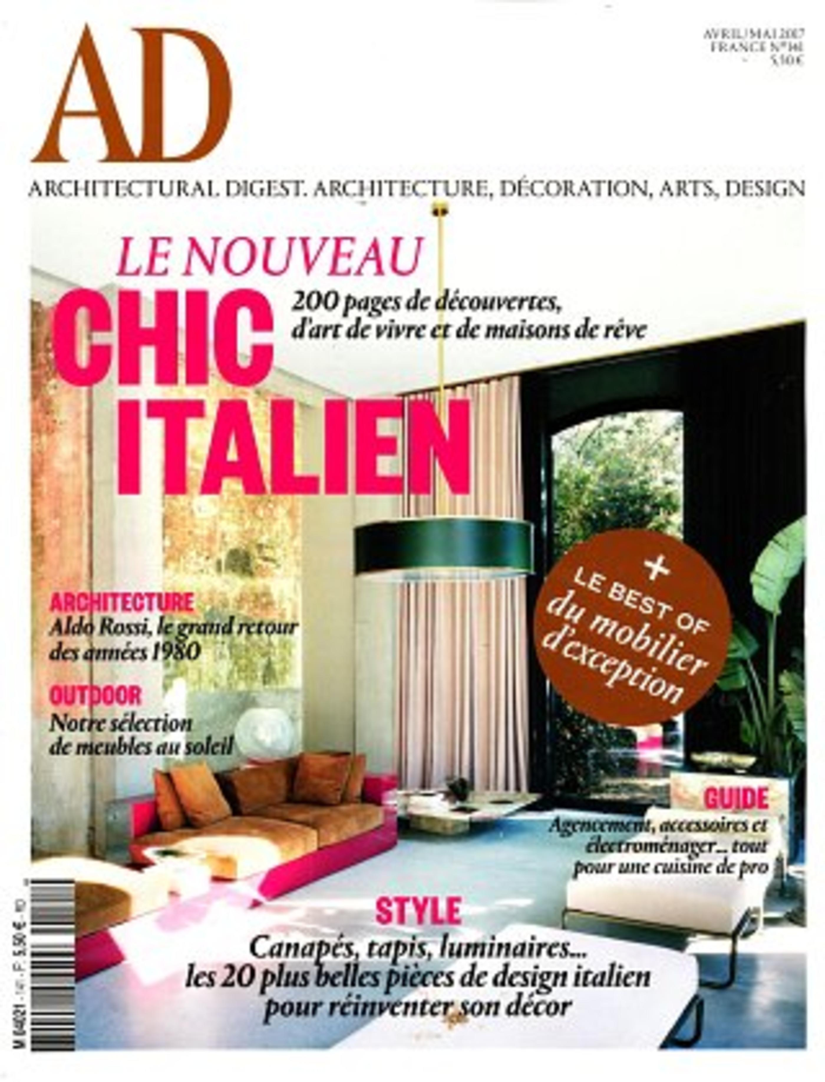 Couteau office Jean Dubost Pradel, fabrication 100% française, AD magazine avril-mai 2017
