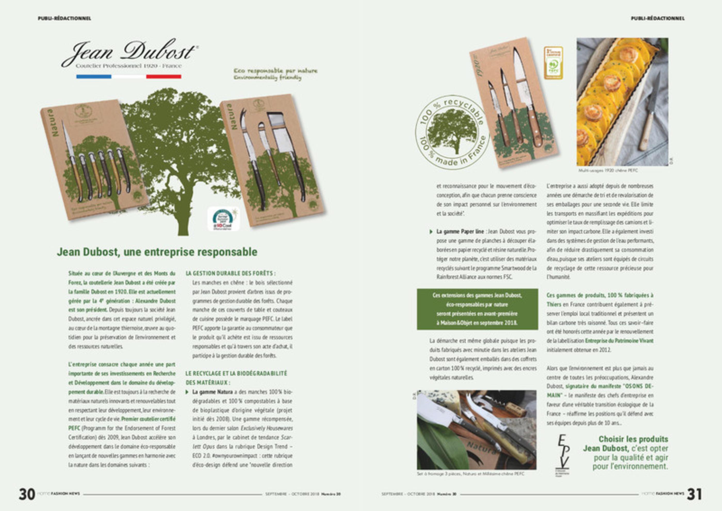 Jean Dubost An Ecofriendly French Cutlery Home Fashion News